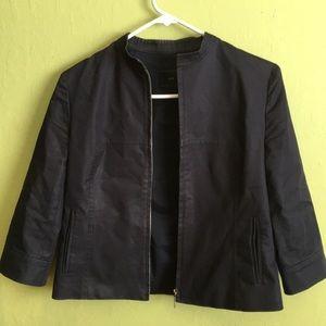 Stylish navy blue jacket
